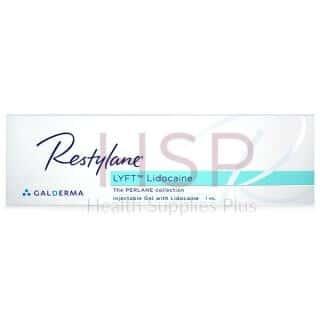 RESTYLANE® LYFT w/ Lidocaine 20mg/ml, 3mg/ml 1-1ml prefilled syringe